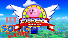 Kirby in Sonic the Hedgehog 2 (Sega Mega Drive).