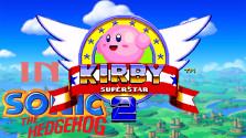 Kirby in Sonic the Hedgehog 2 (Sega Mega Drive).