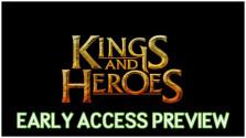 [Cтрим новинки] Кооперативные данжи. Kings and Heroes. [03.06.2016/19.00]