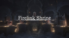 Beauty of Dark Souls 3: Cemetry of Ash and Firelink Shrine