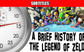 «A Brief History of The Legend of Zelda» с русскими субтитрами