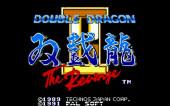 Double Dragon 2: The Revenge (Sega Mega Drive).
