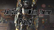 Fallout 4. Заглавная Тема. Фортепиано
