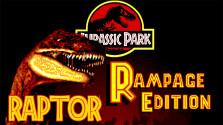 Jurassic Park: Rampage Edition [Raptor] (Sega Mega Drive).