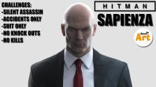 HITMAN 2016 Ep. 2 — Sapienza (Silent Assassin, Suit Only, No KO,No Kills,Accidents) + пасхалки