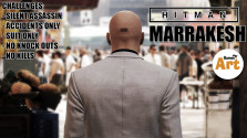 HITMAN 2016 Ep. 3 — Marrakesh (Silent Assassin, Suit Only, No KO,No Kills,Accidents)