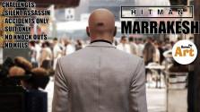 HITMAN 2016 Ep. 3 — Marrakesh (Silent Assassin, Suit Only, No KO,No Kills,Accidents)