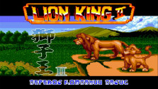 The Lion King 2 (Sega Mega Drive).