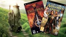 2 PSP игры по мотивам Властелина Колец