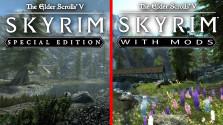 Skyrim Special Edition vs Skyrim с модами