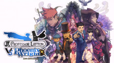 Professor Layton vs. Phoenix Wright или довольно странный кроссовер.