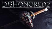 Dishonored 2 — Corvo Attano mask and blade ( Маска и клинок из металла )