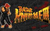 Bare Knuckle 3 hack Akuma (Sega Mega Drive).
