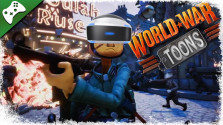 World War Toons — Открытая BETA. PSVR Gameplay