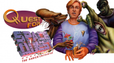 Quest for… — Обзор игры Space Quest: The Sarien Encounter