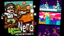 Обзор дилогии Angry Video Game Nerd Adventures