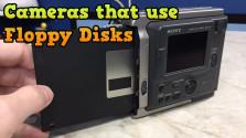 Когда камеры работали на дискетах…