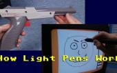 Как работали световые перья и световые пистолеты