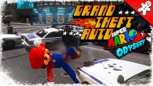 Super Mario Odyssey в стиле GTA 4 (пародия Nintendo Switch)