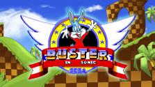 Buster Bunny in Sonic 1 (Sega Mega Drive)