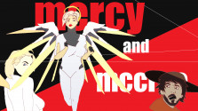 Overwatch no Mercy? Mccree and Mercy animated