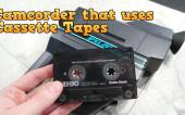 Видеокамера на аудиокассетах (8-bit guy)