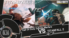 Call of Duty Infinite Warfare VS Titanfall 2