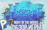Обзор Игры — Night In the Woods