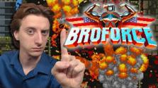 Обзор за Минуту — Broforce   ProJared (RUS VO)