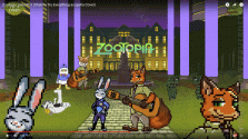 Zootopia pixel 8bit (acapella Cover Shakira Try Everything)