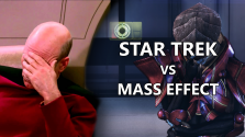 Что общего у Mass Effect и Star Trek? | Герои, враги, технологии