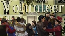Отечественная визуальная новелла про войну Доброволец в Steam greenlight