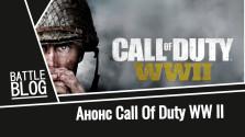 Все известные подробности новой Call Of Duty WWII от Battle Blog