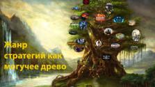 Жанр стратегий как могучее дерево