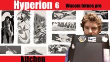 Кухня Гиперион 6 Наброски и мой планшет Wacom