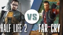 Far Cry VS Half Life 2 — (ДЕТАЛЬНОЕ СРАВНЕНИЕ)