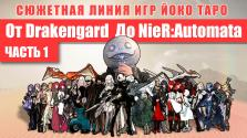 Сюжетная линия от Drakengard до NieR Automata