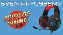 Обзор игровой гарнитуры SVEN AP-U988MV от AppBlog