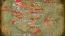 Карта ресурсов и фантастических тварей в игре Dark and Light