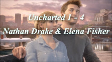 Uncharted 1-4: Nathan Drake & Elena Fisher [Music Game Video]