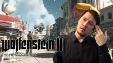 ПОЛНЫЙ АХТУНГ! Обзор Wolfenstein 2: The New Colossus. Мнение Кэролайн.