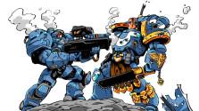 СХВАТКА | Космодесант против Терран / Warhammer 40K VS Starcraft