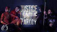 Косплей пародия по «Лиге Справедливости»