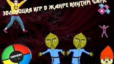 Эволюция игр в жанре Rhythm game