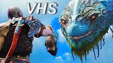 God of War (2018) — безумный сюжетный трейлер — озвучка VHS