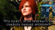 Ведьмак 3: Каменные Сердца — Что будет, если приехать на свадьбу заранее. CD Projekt Red против игровых условностей