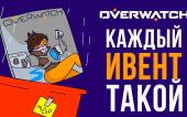Каждый ивент Overwatch такой ( кратко о Событиях в Оверватч ) Анимация