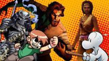 О некоторых комиксах и игровых адаптациях