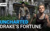 Uncharted: Drake's Fortune — Вечерний консольный стрим (В записи)