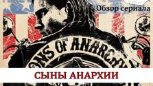 Сериал Сыны Анархии обзор-рецензия